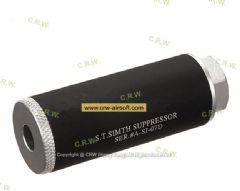 ACTION 80mm S.T. Simth Suppressor Silencer (Dual Tone, 14mm CCW)